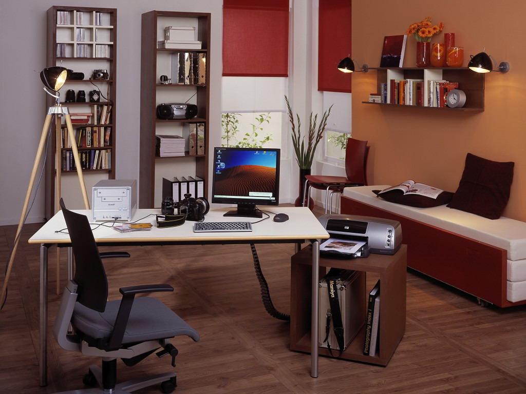 طراحی دکوراسیون داخلی اتاق کار